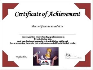 blank dd certificate
